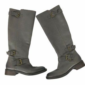 Enzo Angiolini Easayin Boots 8.5 Buckle Sides